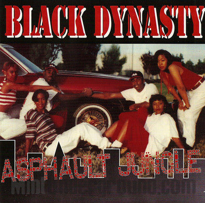Black Dynasty: Asphault Jungle: CD