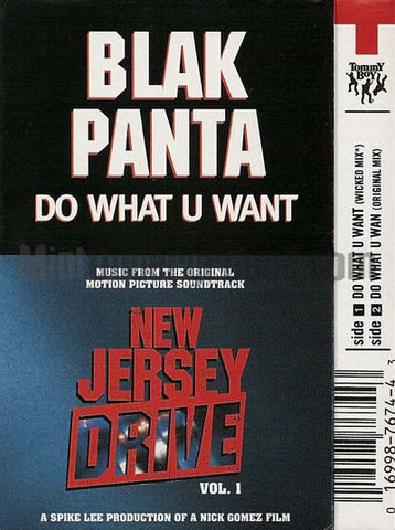 Blak Panta: Do What U Want: Cassette Single