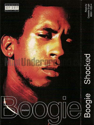 Boogie: Shocked/Hustler: Cassette Single
