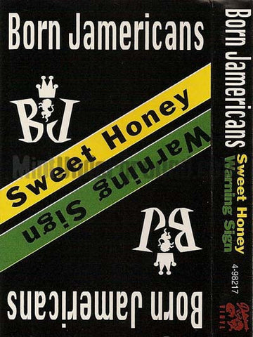 Born Jamericans: Sweet Honey/Warning Sign: Cassette Single
