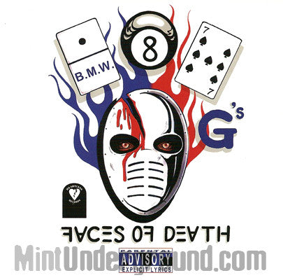187 G's/B.M.W./BMW/Brothas Most Wanted: Faces Of Death: CD