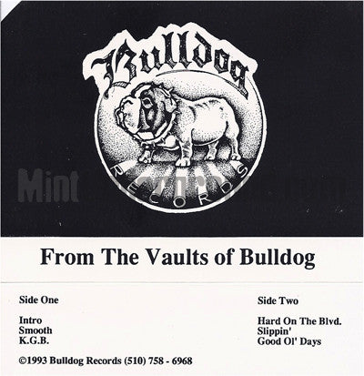 Bulldog Records: From The Vaults Of Bulldog: Cassette