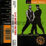 C+C Music Factory: Do You Wanna Get Funky: Cassette Single