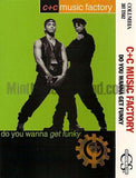 C+C Music Factory: Do You Wanna Get Funky: Cassette Single: 2 Track