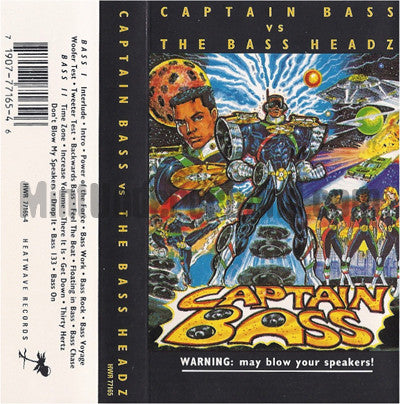 Captain Bass: Captain Bass vs. The Bass Headz: Cassette