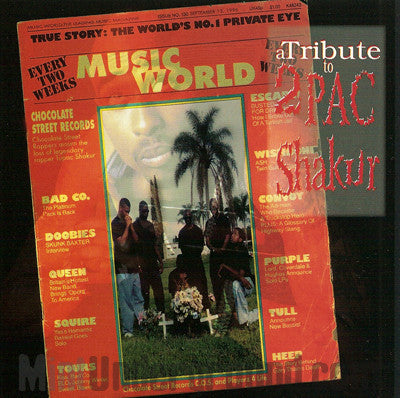 Chocolate Street Records: A Tribute To 2Pac Shakur: CD