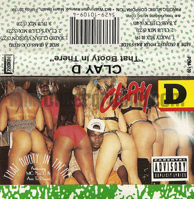 Clay D: That Booty In There: Cassette Single