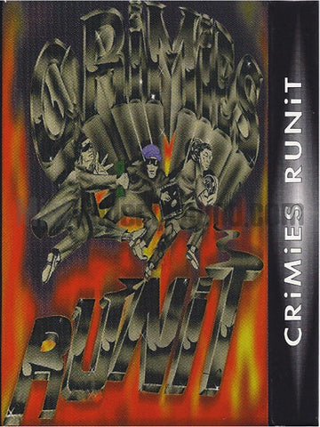 Crimies: Crimies RuniT: Cassette Single