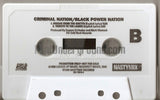 Criminal Nation: Release The Pressure: Cassette Single