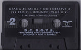 DC Boys: Bounce Roc Skate: The Bomb Ain't Dropped Yet: Cassette