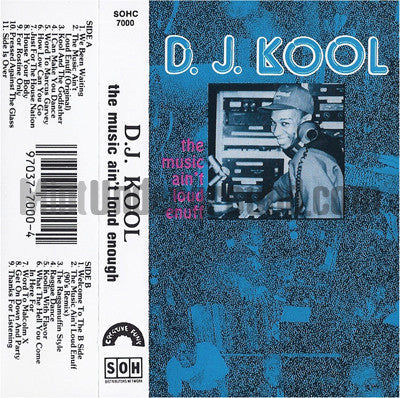 DJ Kool: The Music Ain't Loud Enuff: Cassette