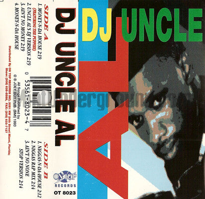 DJ Uncle Al: Money N Da House: Cassette Single