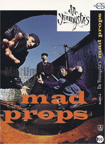Da Youngsta's: Mad Props: Cassette Single