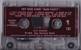Def Bass Krew: Bass Party: Cassette