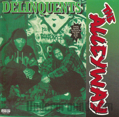 Delinquents: The Alleyway: CD