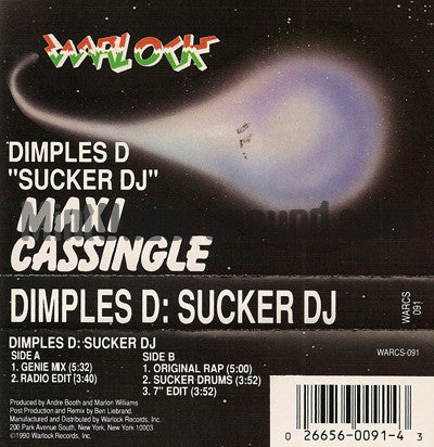 Dimples D: Sucker DJ: Cassette Single