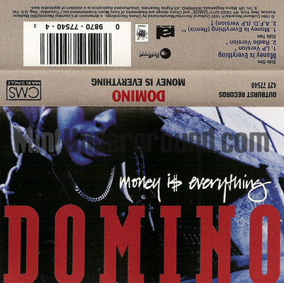 Domino: Money Is Everything: Cassette Single