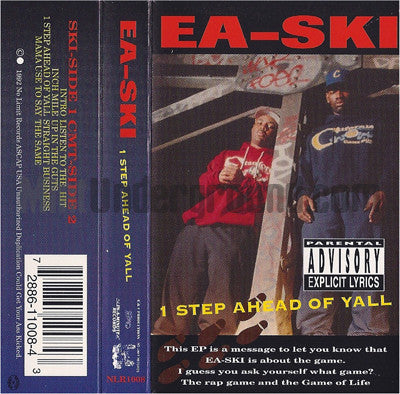 EA-Ski: 1 Step Ahead Of Yall: 1st Pressing: Cassette