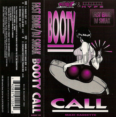 Fast Eddie and DJ Sneak: Booty Call: Cassette Single