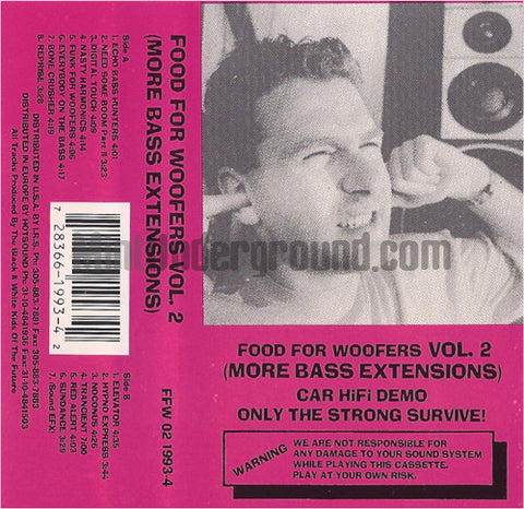 Food For The Woofers Vol. 2: More Bass Extensions: Cassette