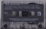 Food For The Woofers Vol. 3: The Ultimate Bass: Cassette