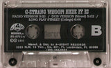 G-Strang: Whoop Here It Is: Cassette Single