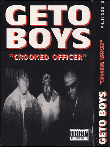 Geto Boys: Crooked Officer: Cassette Single