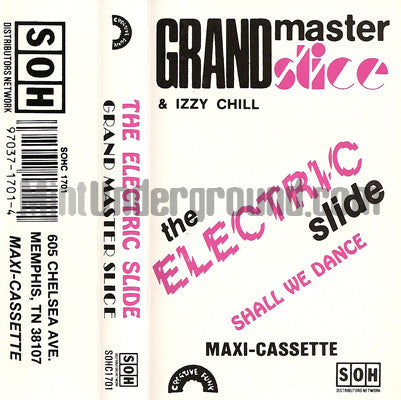Grandmaster Slice: The Electric Slide: Cassette Single
