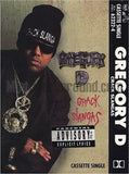 Gregory D & Mannie Fresh: Crack Slanga: Cassette Single
