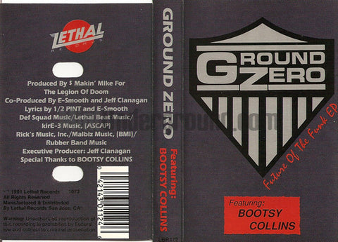 Ground Zero featuring Bootsy Collins: Future Of The Funk EP: Cassette
