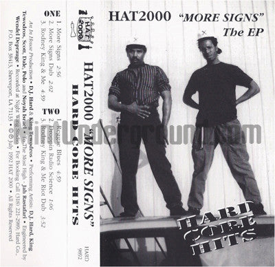 Hat 2000: More Signs: Cassette
