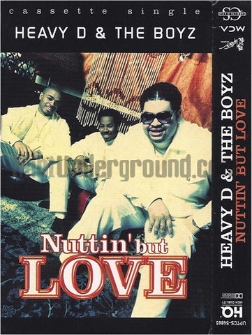 Heavy D & The Boyz: Nuttin' But Love: Cassette Single: 2 Track