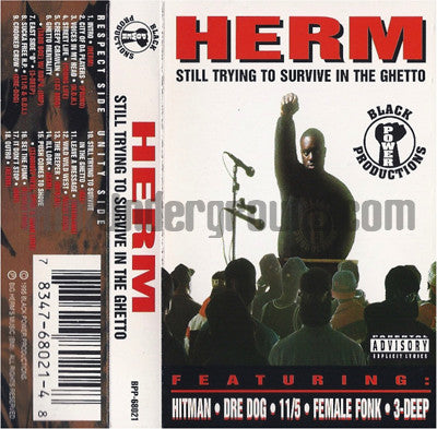Herm: Still Trying To Survive In The Ghetto: Cassette