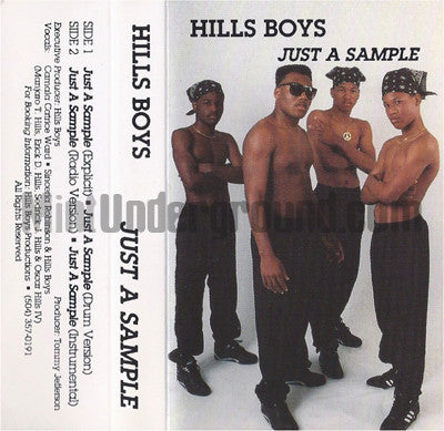 Hills Boys: Just A Sample: Cassette Single