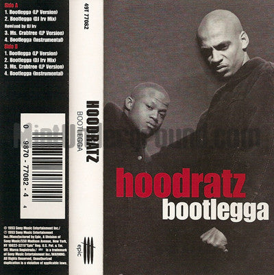 Hoodratz: Bootlegga: Cassette Single