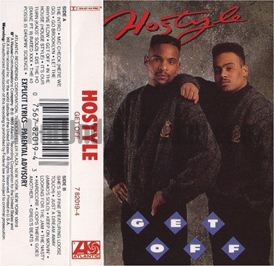 Hostyle: Get Off: Cassette