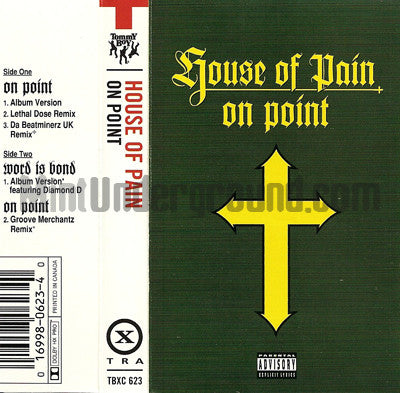 House Of Pain: On Point: Cassette
