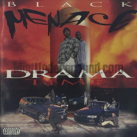 Black Menace: Drama Time: CD