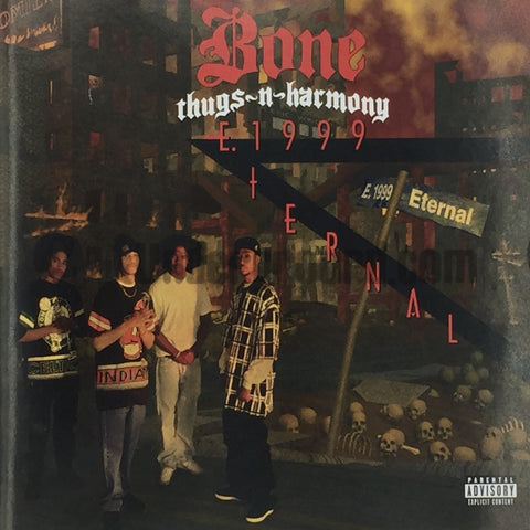 Bone Thugs-N-Harmony: E. 1999 Eternal: CD