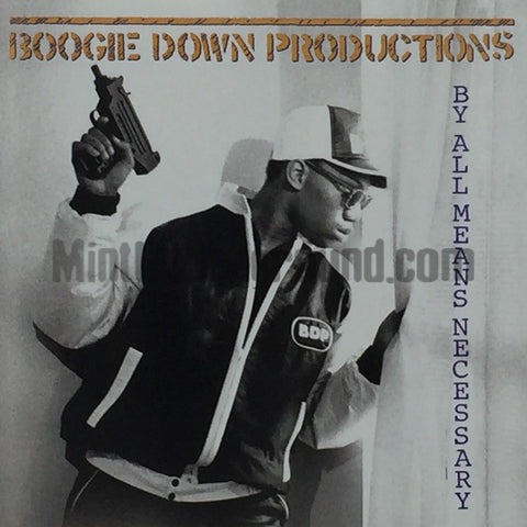 BDP/Boogie Down Productions: By All Means Necessary: CD
