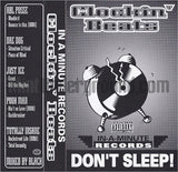 Various Artists: In-A-Minute Records: Clockin' Beats/Don't Sleep: Cassette: Promo