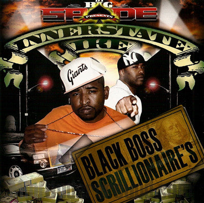 Innerstate Ike: Black Boss Scrillionaires: CD