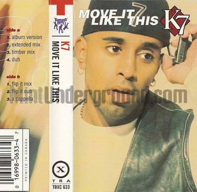 K7: Move It Like This: Cassette Single