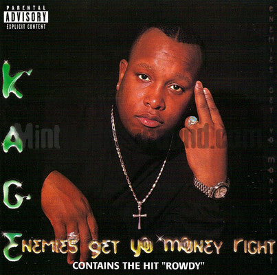 Kage: Enemies Get Yo Money Right: CD