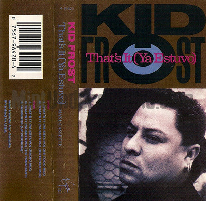 Kid Frost: That's It: Cassette