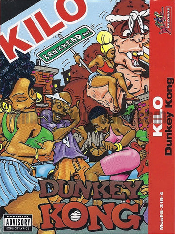 Kilo: Dunkey Kong/Get This Party Started: Cassette Single