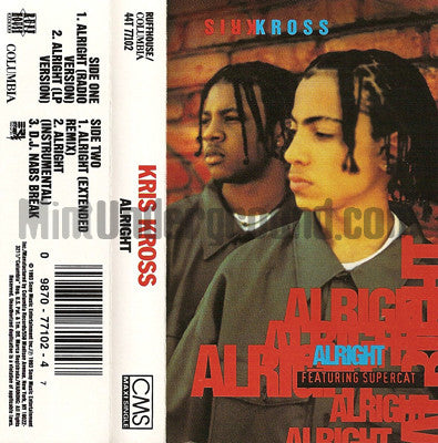 Kris Kross: Alright: Cassette Single