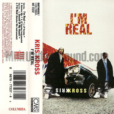 Kris Kross: I'm Real: Cassette Single