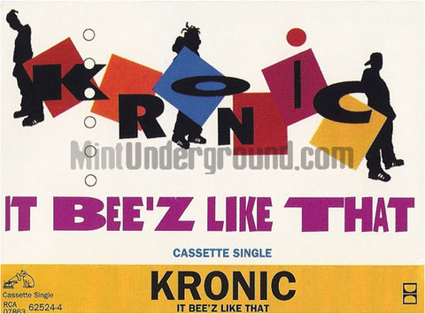 Kronic: It Bee'z Like That: Cassette Single