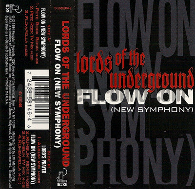 Lords Of The Underground: Flow On: Cassette Single